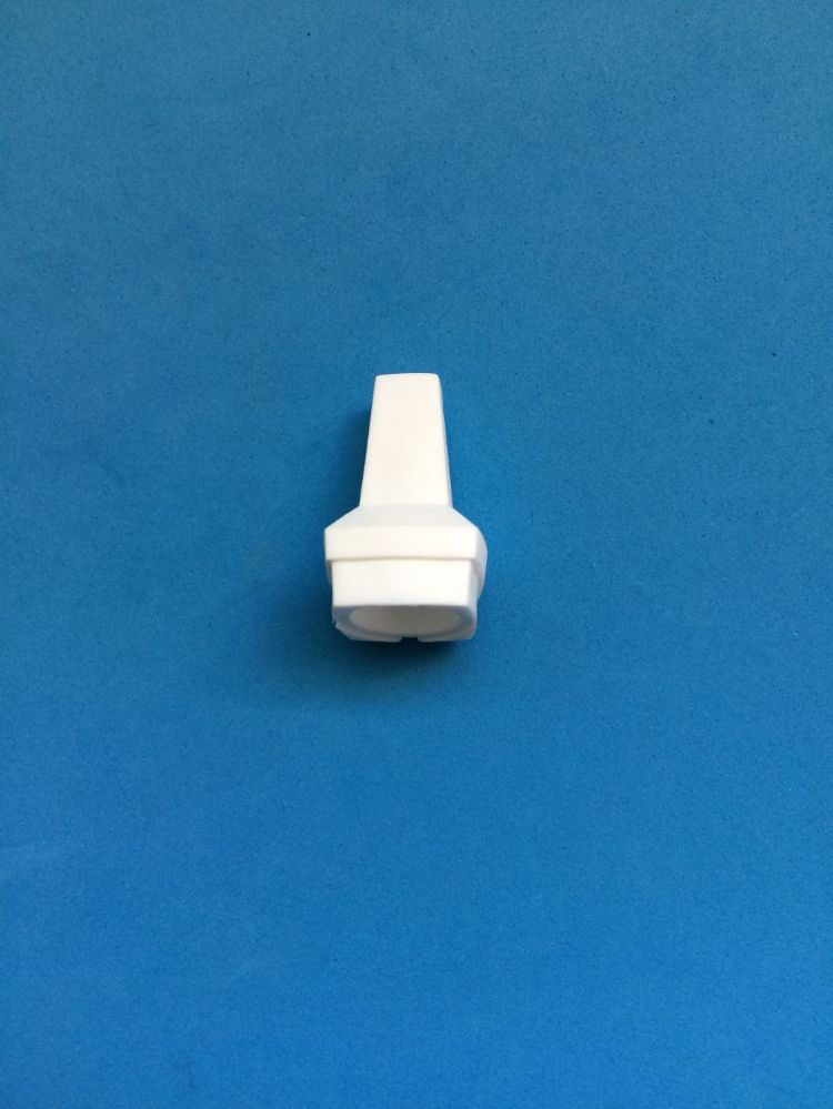 Large White Plastic Acrylic Pull Toggle
